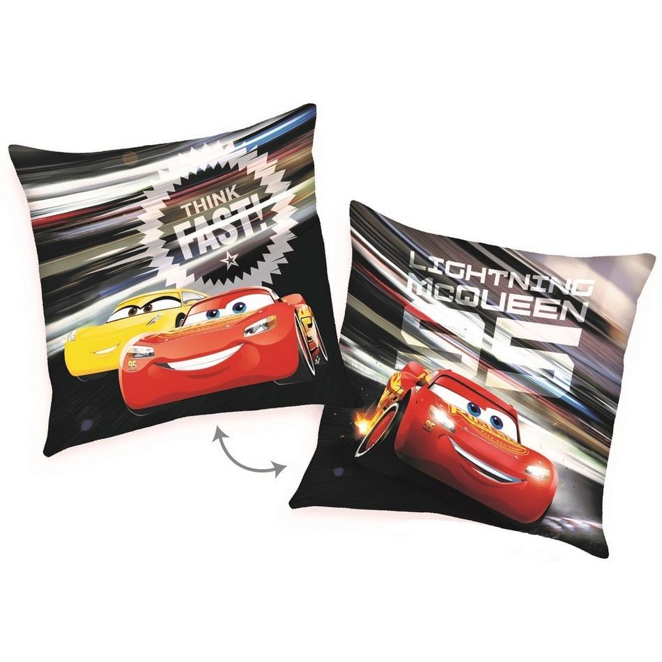 Herding Polštářek Cars McQueen Fast, 40 x 40 cm