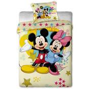 Detské obliečky Mickey a Minnie micro, 140 x 200 cm, 70 x 90 cm