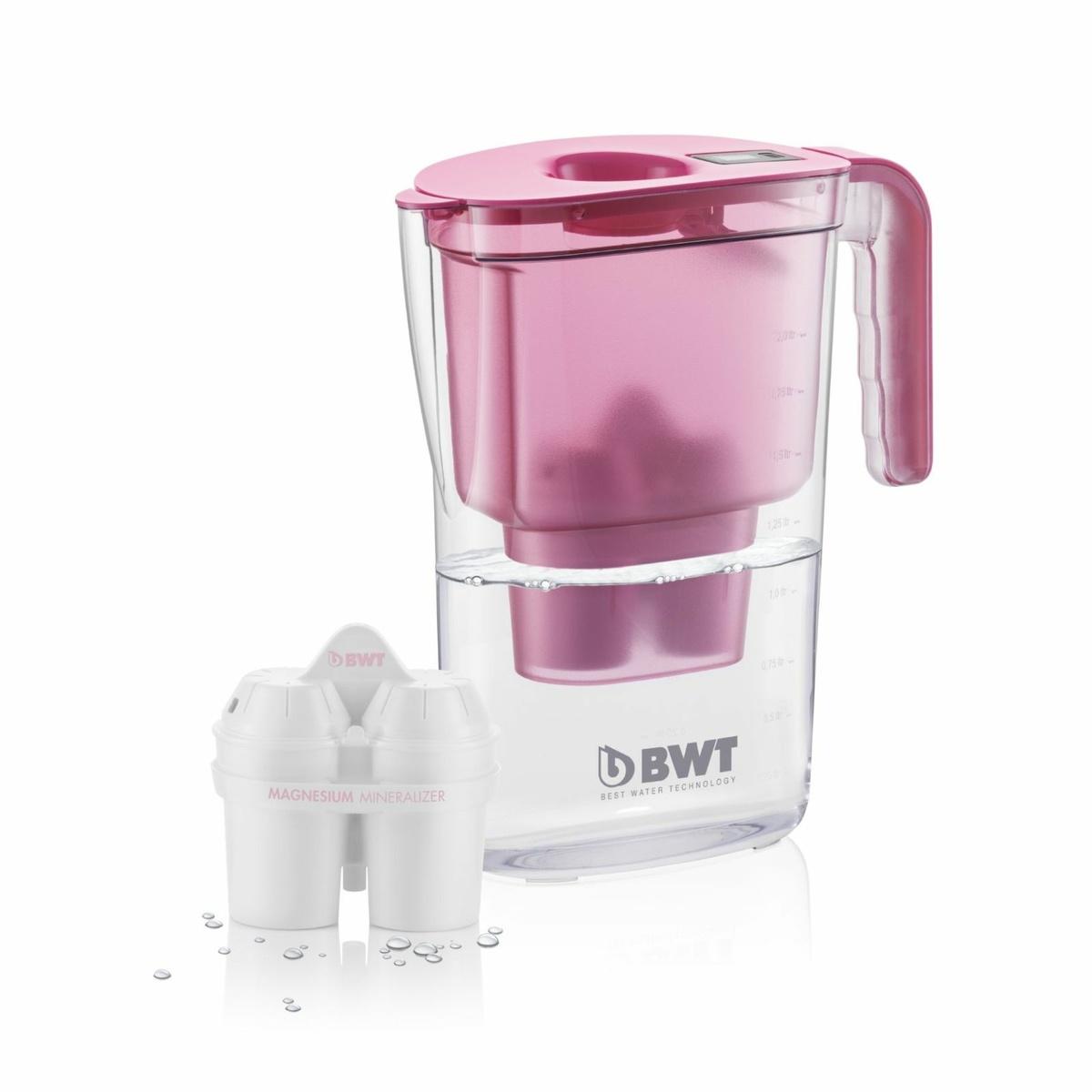 BWT filtrační konvice Vida 2,6 l růžová + filtr