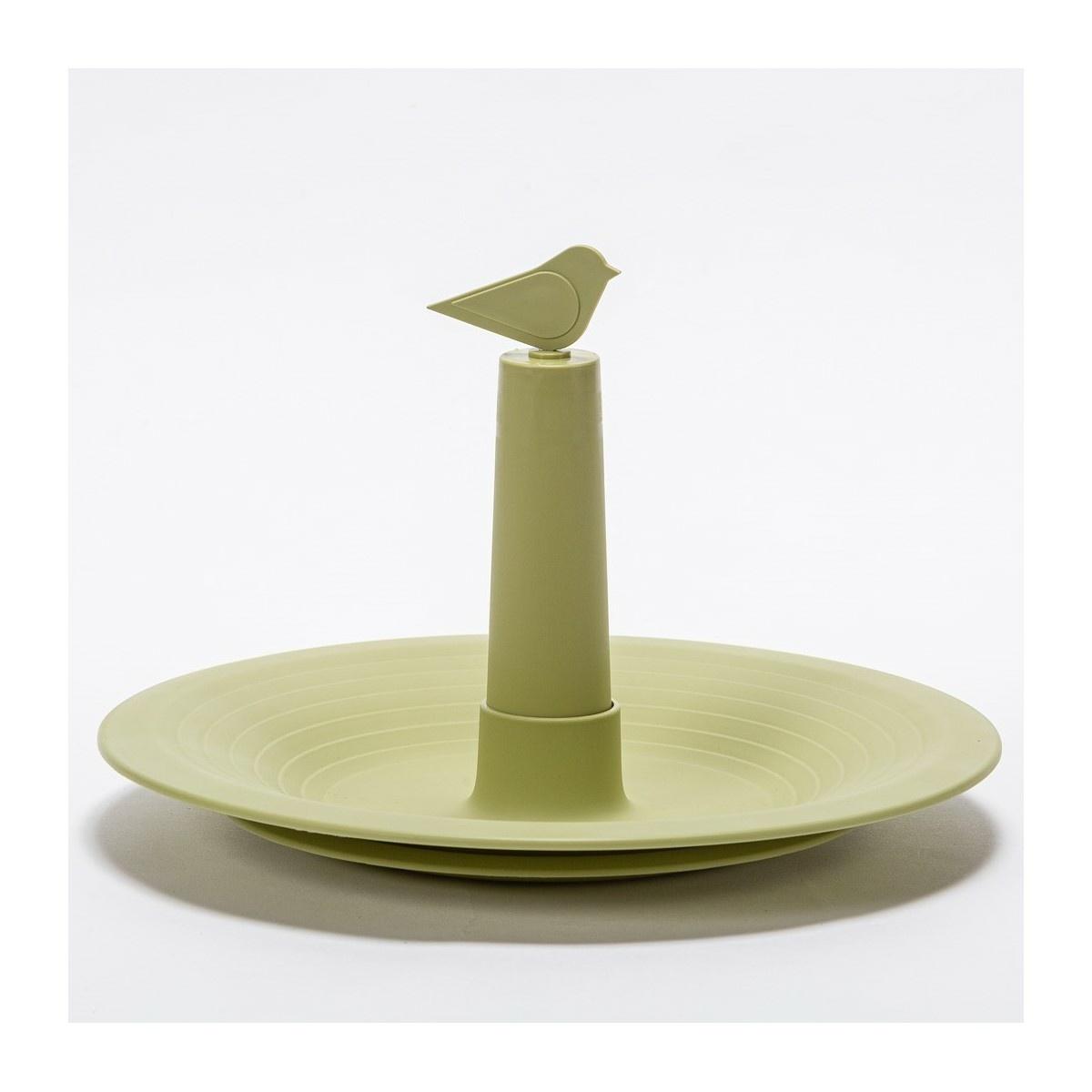 Plastia Poidełko dla ptaków Finch, oliwkowy