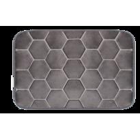 Covoraș din spumă cu memorie Domarex Honeycomb, gri, 38 x 58 cm