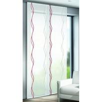 Albani Jane függönypanel, piros, 60 x 245 cm