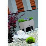 Skrzynka kwiatowa Rato Case HIGH biały, wys. 46 cm