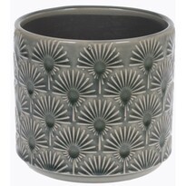 Keramický obal na květináč Campello šedá, pr. 13 cm