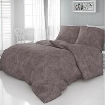 Elegance szatén ágynemű, barna