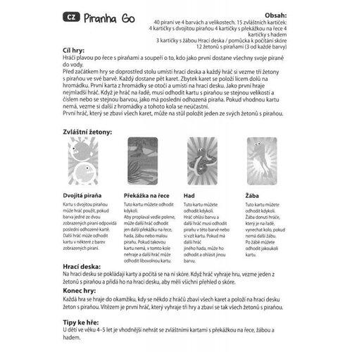Educa Hra Piraně