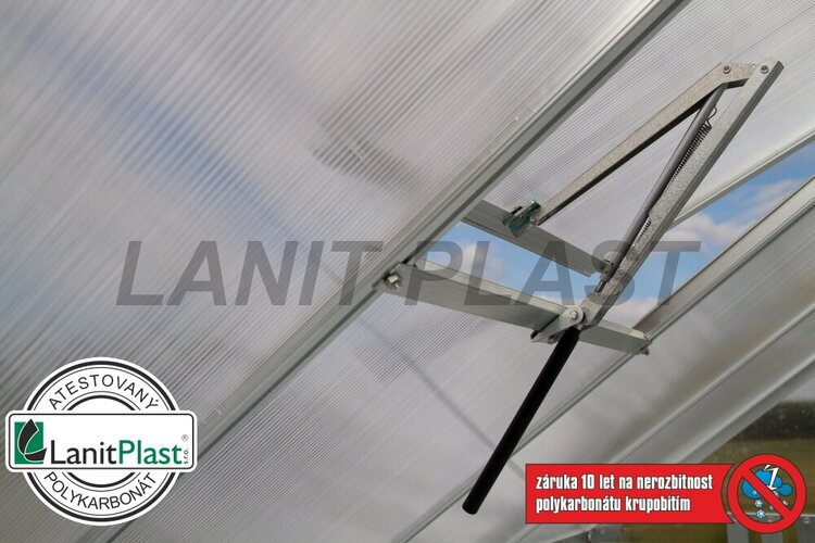 Skleník VITAVIA VENUS 7500 PC 4 mm strieborny