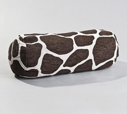 Podhlavník Žirafa BO-MA, 20 x 45 cm, bílá + černá, 20 x 45 cm