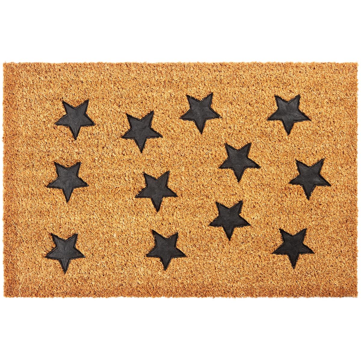 Trade Concept Kokosová rohožka Hvězdy, 40 x 60 cm