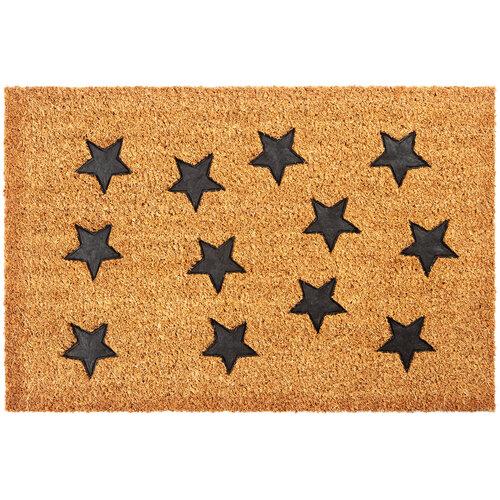 Csillagok kókusz lábtörlő, 40 x 60 cm