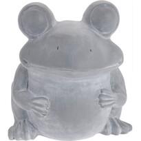 Doniczka cementowa Żaba, 30,5 cm