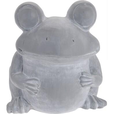Glastră din ciment Broască, 30,5 cm