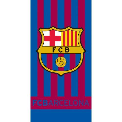 Tip Trade Osuška FC Barcelona Stripes, 70 x 140 cm