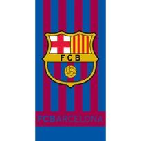 Osuška FC Barcelona Stripes, 70 x 140 cm