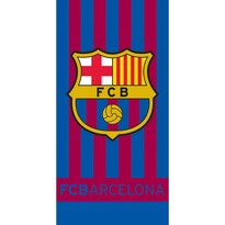 Ręcznik FC Barcelona Stripes, 70 x 140 cm