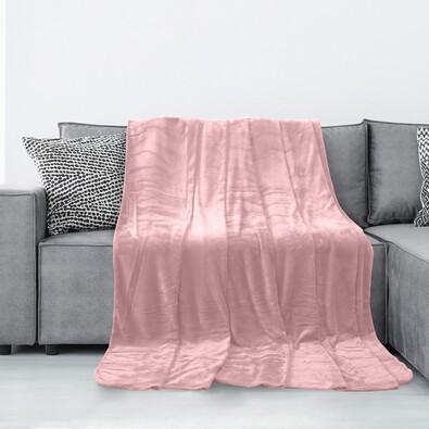 AmeliaHome Deka Tyler svetloružová, 150 x 200 cm
