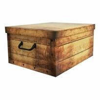 Compactor Pudełko do przechowywania składane Country, 50 x 40 x 25 cm