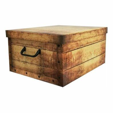 Compactor Skládací úložná krabice Country, 50 x 40 x 25 cm