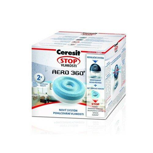 Ceresit STOP VLHKOSTI AERO 360° náhradné tablety 2v1, 2x 450 g
