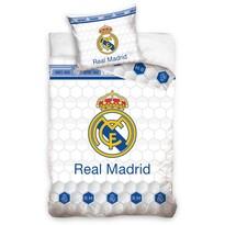 Pościel bawełniana Real Madrid Colmenas, 140 x 200 cm, 70 x 90 cm
