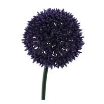 Sztuczny kwiat Czosnek ciemnofioletowy, 68 cm