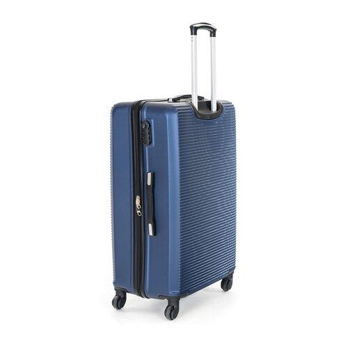 Pretty UP Cestovní skořepinový kufr ABS03 L, modrá