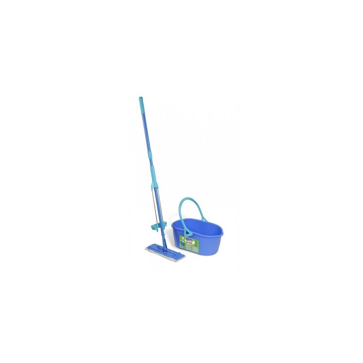 Sada kbelík a mop Quickmax se samoždímacím systéme