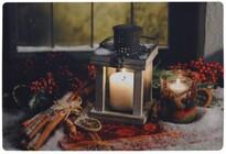 Christmas Lantern lábtörlő, 38 x 58 cm
