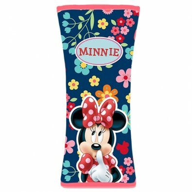 Návlek na bezpečnostní pás Minnie, 19 x 8 cm