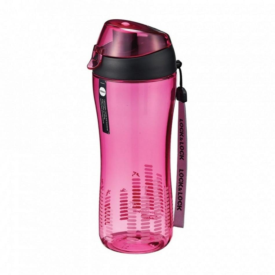 Sportovní lahev - růžová, LOCK & LOCK