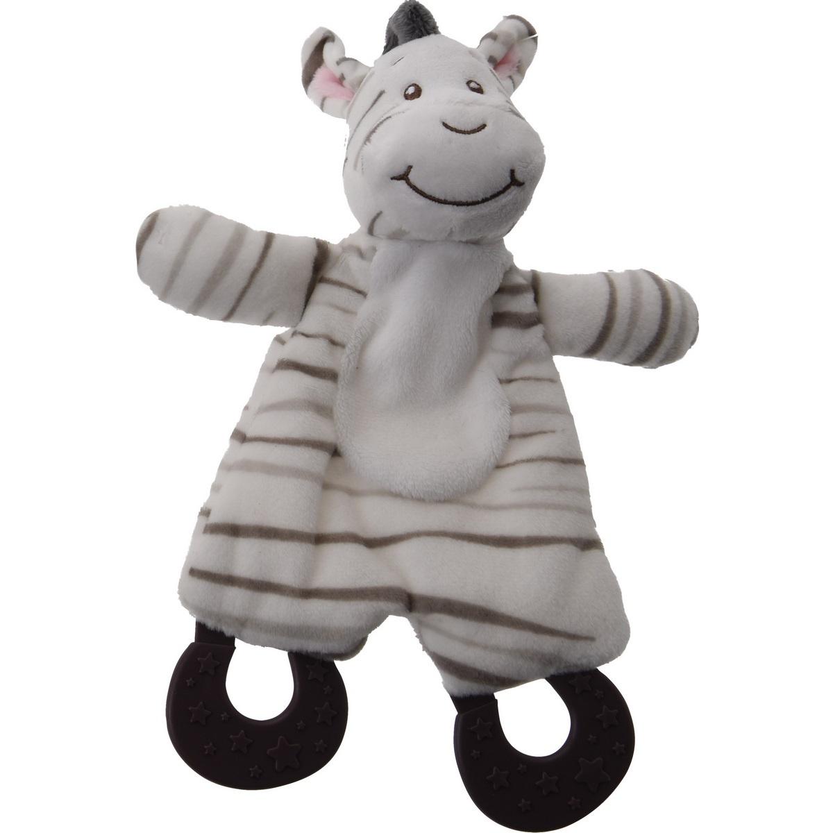 Fotografie Koopman Plyšová hračka pro nejmenší Zebra, 25 cm