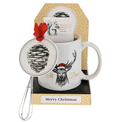 Cană cu surprize de Crăciun, 300 ml, Cerb