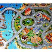 Dětský koberec Ultra Soft Město, 70 x 95 cm