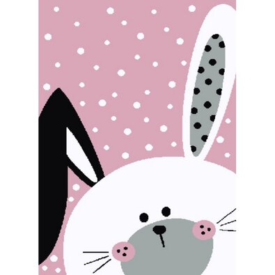 Kusový detský koberec Kiddo 0131 pink
