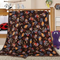 Ella Baglyok gyermek takaró, 100 x 155 cm