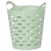 Műanyag doboz apró holmikhoz, zöld, 13,5 cm