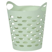 Plastikowe pudełko, zielony 13,5cm