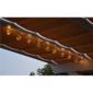 Sharks Solární osvětlení Žárovky, 10 LED