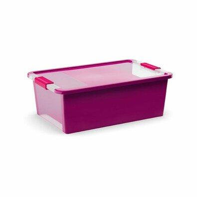 KIS Úložný box Bi Box M 26 l, fialová