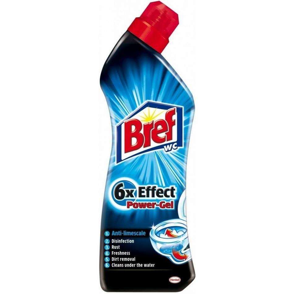 Bref 6x Effect Power Gél ??vodný kameň, 750 ml
