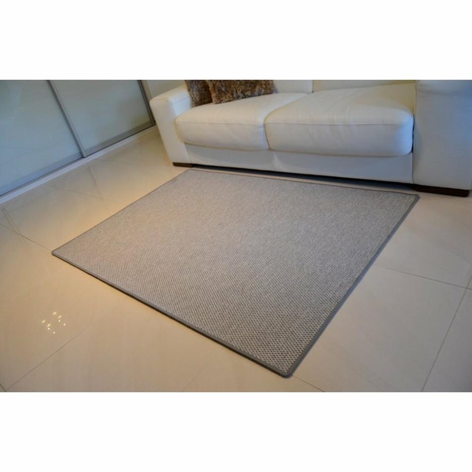 Vopi Kusový koberec Nature šedá, 60 x 110 cm