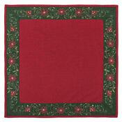 Vánoční ubrus Hvězda červená, 85 x 85 cm