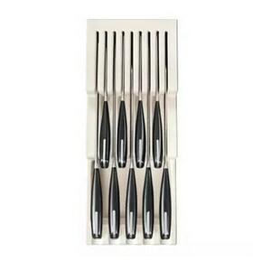 TESCOMA zásobník na nože FlexiSPACE 370 x 148 mm, pro 9 nožů