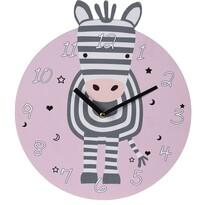 Koopman Zegar ścienny Zebra, śr. 28 cm