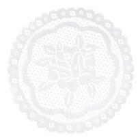 Dekorační podložka Rozálie, průměr 20 cm