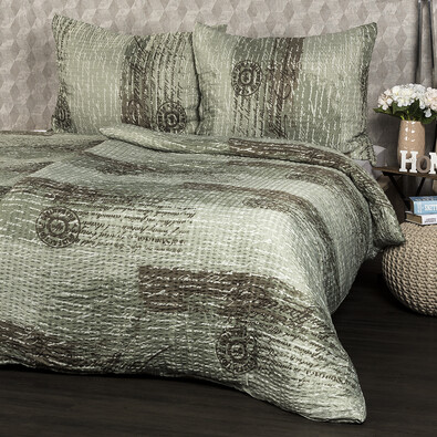 Lenjerie pat 1 pers. Litera, creponată , 140 x 200 cm, 70 x 90 cm