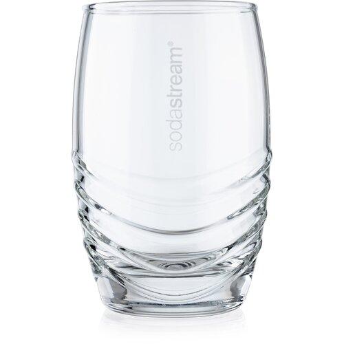 SodaStream 4 részes üvegpohár készlet