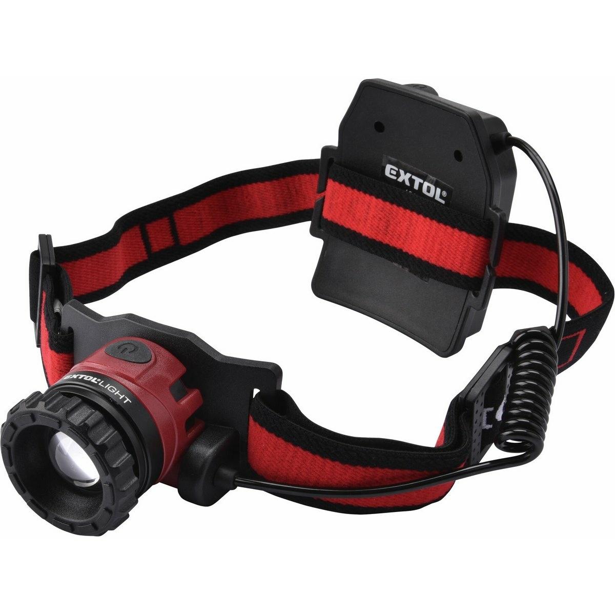 EXTOL - LIGHT Nabíjacia čelovka CREE XPL, 450 lm