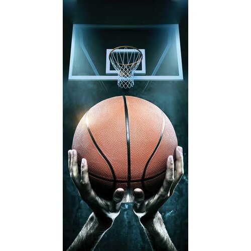 Jerry Fabrics Osuška Basketball, 70 x 140 cm