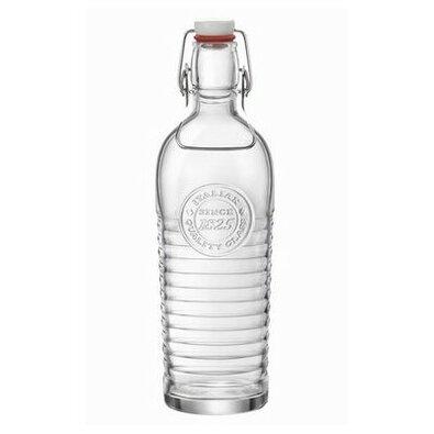 Bormioli Rocco Skleněná láhev s Clip uzávěrem Retro, 1,2 l